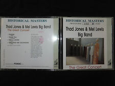 RARE CD THAD JONES & MEL LEWIS BIG BAND / THE GREAT CONCERT / LIMITED OF 2000 /
