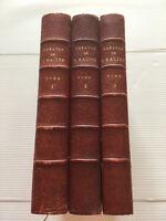 1880 THEATRE JEAN RACINE *NUM°450* 3VOLUMES LIVRE BOOK LITTERATURE POESIE NOTES
