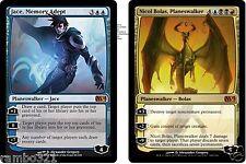 Nicol Bolas, Planeswalker & Jace, Memory Adept + 20 Random Rares MTG Wholesale