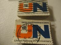 "1419 United Nations 25th Anniv. ""1970"" CV $25.00 - 100 pack"