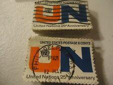 "1419 United Nations 25th Anniv. ""1970"" CV $25.00 - 100 pack"