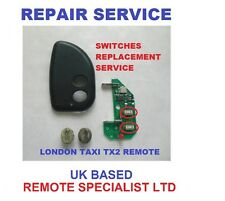 London Taxi LTI TX2 4 Central Locking Remote Repair  Fault Fix  Switches Replace