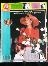 Point de Vue 20/5/1988; Caroline de Monaco; Ambitions de mère et de princesse