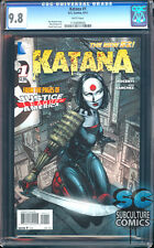 KATANA #1 CGC 9.8 - SOLD OUT - FIRST PRINT - SUICIDE SQUAD MOVIE - VERY RARE