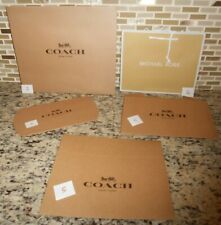 NEW SIGNATURE GIFT WRAPPING COACH BOX & TISSUE PAPER  MICHAEL KORS BAG W/ PAPER