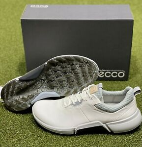 ECCO Biom H4 Spikeless Men's Golf Shoes Size 45 White US 11 - 11.5 NEW #86015