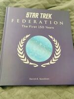 Star Trek Federation : The First 150 Years. Titan Books.  Hardcover.
