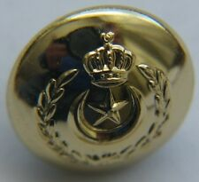 1951 Libya Military Uniform Button by Gaunt London Brass King Idris Senussi