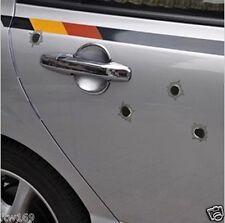 BULLET HOLES GUN FOR BIKE HELMET SCOOTER CAR 4WD UTE WINDOW WALLS COUPE 4DR 5DR