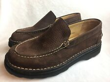 Born Men's Size 8.5 M (42) Loafers Brown Leather Casual Comfort Slip On Shoes