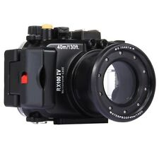 40m Waterproof Underwater Housing for Sony RX100 IV Camera