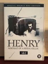 Henry Portrait of A Serial Killer 1 & 2 - Region 2 - Special Double Disc Edition
