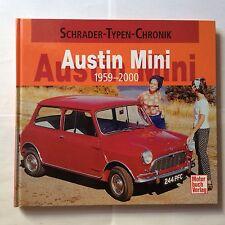 Schrader Typen Chronik Austin / Rover Mini + Cooper Bildband