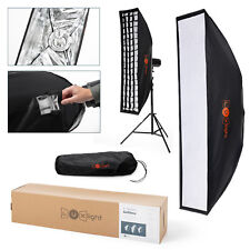 Umbrella Softbox Stripbox & Grid | 20x90cm | Bowens Mount | Flash Light Strip