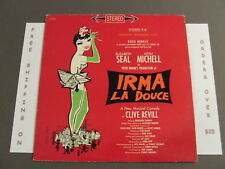 IRMA LA DOUCE BROADWAY CAST STEREO SOUNDTRACK LP OS 2029