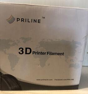 PRILINE Carbon Fiber Polycarbonate 1KG 1.75 3D Printer Filament, Dimensional +/-