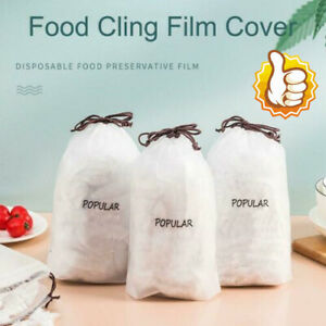 50/100/200/300/400Pcs Fresh Keeping Bags  Disposable Bowl Cover Vacuum Sealed