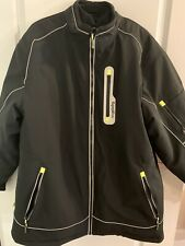 RefrigiWear Men's Extreme Softshell Insulated Jacket -60F Cold Protection 2XL