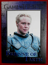 GAME OF THRONES - Season 4 - Card #42 - BRIENNE OF TARTH - Rittenhouse 2015