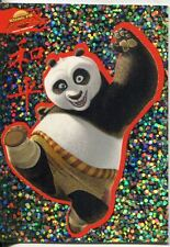 Kung Fu Panda Sparkly Stickers Chase Card S-1