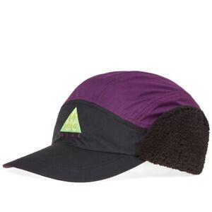 Nike ACG Tailwind Sherpa Adjustable Cap Hat Black / Night Purple
