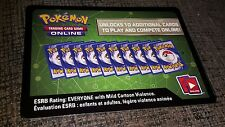 Pokemon Sun & Moon Base Set SM1 Code Cards Trading/Card/Game/Online/TCGO/NEW