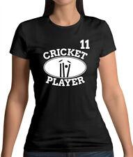 Cricket Player 11 - Womens T-Shirt - Cricketer - Gift - Team - World Cup