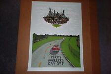 Marq Spusta Ferris Bueller's Day Off Blue Sky Edition Print