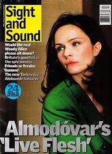 Sight and Sound April 1998 Pedro Almodovar Live Flesh Gummo Aleksandr Sokurov
