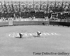 Corona Beer Ad in Bull Ring, Tamaulipas, Mexico - 1942 - Historic Photo Print