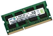 4gb de mémoire pour pc portables avec Core i7-3820qm pour DIMM ram samsung ddr3 1600 MHz