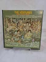 Reel to Reel Tape - 3 3/4 IPS - The Ventures - More Golden Greats - 4 Track