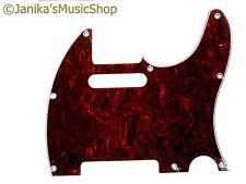 tortoiseshell scratch plate fits telecaster guitar 3 ply pick guard N Janika