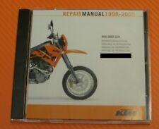 Werkstatthandbuch Reparaturanleitung original KTM 400 - 660 LC4  1998-2005