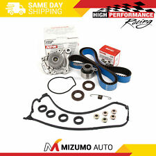 Timing Belt Kit Water Pump Valve Cover Gasket Fit 96-00 Honda Civic D16Y7 D16Y8