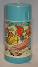 1971 Aladdin Half-Pint Flintstones PEBBLES AND BAMM-BAMM Thermos with Cap & Cup