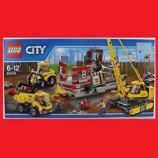 LEGO 60076 Abriss Baustelle Demolition Site Abbruch pastzu 60074 60075 60073 NEU