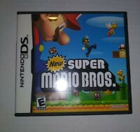 New Super Mario Bros. Nintendo DS Case ONLY NO GAME FREE SHIPPING