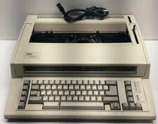 IBM Lexmark Wheelwriter 1000 Electronic Typewriter