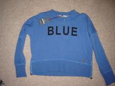 BOYS/GIRLS BLUE REBEL SPOT ON SWEAT SHIRT/TOP SIZE 122-128 NWT PRICE € 54,99