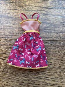 Barbie Dog Print Dress