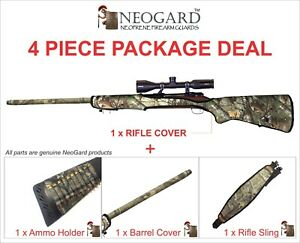 NeoGards - Neoprene Rifle Protectors Camo Package Deal - Rifle Covers