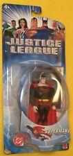 Justice League SUPERMAN Black suit Action Figure 2003 Mattel New DC UNIVERSE
