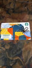 Starbucks * Used Collectible Gift Card w/Sticker No Value * Sbx19-403018