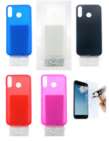 "Case Cover Gel TPU Silicone For Asus Zenfone 5 (4G) 6.2"" + Optional Protector"