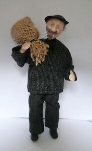 Dolls House Miniature Coalman 1-12TH Scale