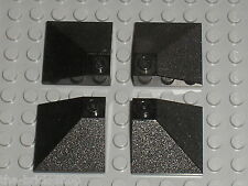 4 x Pièce inclinée LEGO black slope brick ref 3675 /set 4554 7997 7745 7620 6598