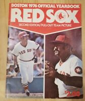 Vintage Boston Red Sox 1976 Official Yearbook - Baseball