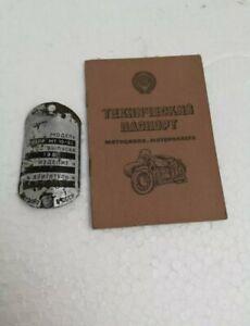 KfZ MT Dnepr Brief bj 1984 technischer Lizenzpass technical license passport