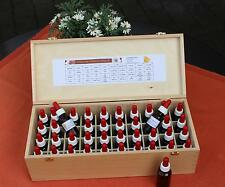 (€ 11,25/100ml) Bachblüten Set 20ml m. Pipette + Holzbuchenbox
